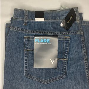Lane Bryant's stretch flare jeans